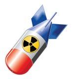 βόμβα πυρηνική Στοκ εικόνα με δικαίωμα ελεύθερης χρήσης