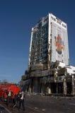 βόμβα τραπεζών επιθέσεων hsbc Στοκ Φωτογραφία