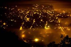 Βόννη τη νύχτα Στοκ Εικόνες