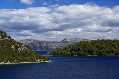 Βόρεια ακτή 04 Mljet Στοκ εικόνες με δικαίωμα ελεύθερης χρήσης