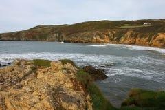 Βόρεια ακτή Anglesey, Ουαλία Στοκ φωτογραφία με δικαίωμα ελεύθερης χρήσης