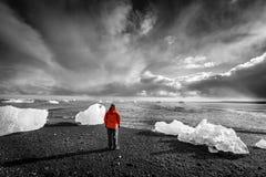 Βόρεια ατλαντική παραλία Στοκ Εικόνες