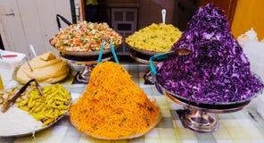 Βόρεια αφρικανικά τρόφιμα στοκ εικόνα