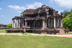 Βόρεια βιβλιοθήκη σε Angkor Wat σύνθετο Στοκ Εικόνες