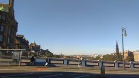 Βόρεια γέφυρα Εδιμβούργο Στοκ φωτογραφίες με δικαίωμα ελεύθερης χρήσης