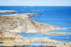 Βόρεια Θάλασσα σε Pørter Στοκ φωτογραφία με δικαίωμα ελεύθερης χρήσης