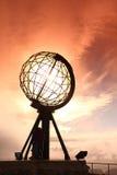 βόρεια Νορβηγία ακρωτηρίω& Στοκ Εικόνα