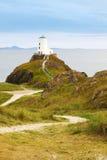 βόρεια Ουαλία φάρων anglesey llandwyn Στοκ εικόνες με δικαίωμα ελεύθερης χρήσης