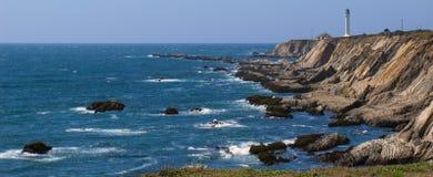 Βόρεια πανοραμική άποψη Καλιφόρνιας Στοκ εικόνες με δικαίωμα ελεύθερης χρήσης