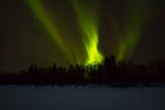 Βόρεια φω'τα πέρα από το Lapland Στοκ Εικόνα