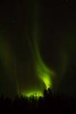 Βόρεια φω'τα πέρα από το Lapland Στοκ εικόνες με δικαίωμα ελεύθερης χρήσης