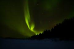 Βόρεια φω'τα πέρα από το Lapland Στοκ φωτογραφίες με δικαίωμα ελεύθερης χρήσης