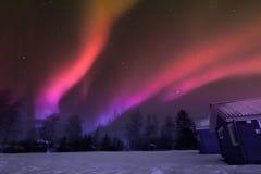 Βόρεια φω'τα πέρα από το Lapland Στοκ Φωτογραφίες