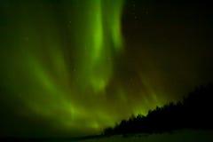 Βόρεια φω'τα πέρα από το Lapland Στοκ Εικόνες