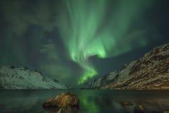 Βόρεια φω'τα Στοκ Εικόνα