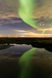Βόρεια φω'τα Στοκ εικόνες με δικαίωμα ελεύθερης χρήσης
