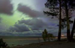 Βόρεια φω'τα 07 10 15 Στοκ εικόνες με δικαίωμα ελεύθερης χρήσης