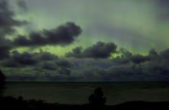Βόρεια φω'τα 07 10 15 Στοκ φωτογραφία με δικαίωμα ελεύθερης χρήσης