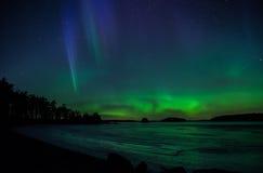 Βόρεια φω'τα Στοκ Εικόνες