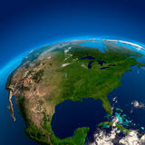 βόρεια όψη της Αμερικής διανυσματική απεικόνιση