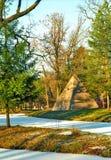 βόρειος μικρός χειμώνας πυραμίδων Στοκ Φωτογραφίες