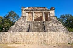 Βόρειος ναός Itza Chichen στο Μεξικό Στοκ Φωτογραφία