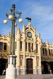 Βόρειος σταθμός τρένου στη Βαλέντσια, Ισπανία Στοκ Εικόνες