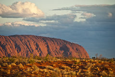 βόρειο έδαφος βράχου ayers στοκ εικόνα με δικαίωμα ελεύθερης χρήσης