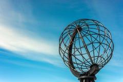 Βόρειο ακρωτήριο σε Finnmark, βόρεια Νορβηγία Στοκ φωτογραφίες με δικαίωμα ελεύθερης χρήσης