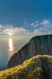 Βόρειο ακρωτήριο σε Finnmark, βόρεια Νορβηγία Στοκ Φωτογραφίες