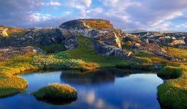 βόρειο καλοκαίρι τοπίων Στοκ εικόνα με δικαίωμα ελεύθερης χρήσης