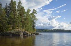 Βόρειο καλοκαίρι Στοκ εικόνα με δικαίωμα ελεύθερης χρήσης