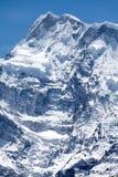 Βόρειο πρόσωπο Annapurna ΙΙ, περιοχή συντήρησης Annapurna, Manang, Νεπάλ Στοκ εικόνα με δικαίωμα ελεύθερης χρήσης