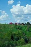 βόρειο ρωσικό χωριό Στοκ φωτογραφία με δικαίωμα ελεύθερης χρήσης