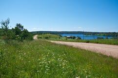 βόρειο ρωσικό χωριό Στοκ φωτογραφίες με δικαίωμα ελεύθερης χρήσης