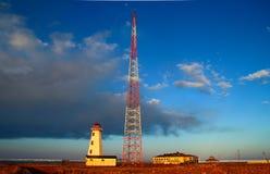 Βόρειο σημείο Lightstation Στοκ εικόνες με δικαίωμα ελεύθερης χρήσης