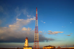 Βόρειο σημείο Lightstation Στοκ Φωτογραφία