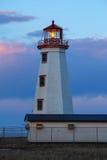 Βόρειο σημείο Lightstation Στοκ εικόνα με δικαίωμα ελεύθερης χρήσης