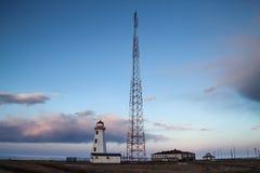 Βόρειο σημείο Lightstation Στοκ φωτογραφία με δικαίωμα ελεύθερης χρήσης