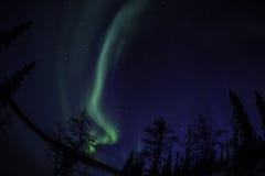 Βόρειο φως πάλι Στοκ εικόνα με δικαίωμα ελεύθερης χρήσης