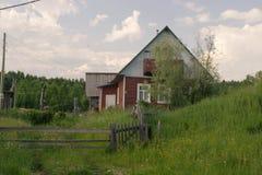 Βόρειο χωριό, Αρχάγγελσκ oblast Στοκ φωτογραφία με δικαίωμα ελεύθερης χρήσης