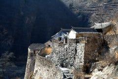 βόρειο χωριό σπιτιών της Κίνας Στοκ Φωτογραφίες