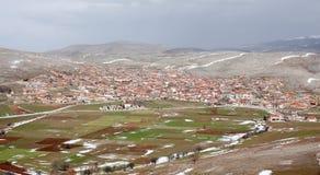 Βόρειο χωριό της Ελλάδας Στοκ Εικόνες
