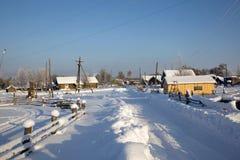 βόρειο χωριό Στοκ φωτογραφίες με δικαίωμα ελεύθερης χρήσης