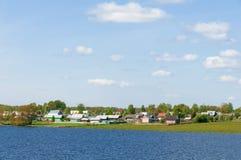 βόρειο χωριό Στοκ Εικόνες