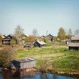 Βόρειο χωριό Στοκ φωτογραφία με δικαίωμα ελεύθερης χρήσης