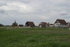 Βόρειο χωριό, Kardashevskaya Στοκ εικόνες με δικαίωμα ελεύθερης χρήσης