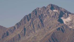 βόρειο ossetia ρωσικά βουνών ομοσπονδίας Καύκασου alania Krasnaya Polyana απόθεμα βίντεο