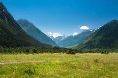 βόρειο ossetia ρωσικά βουνών ομοσπονδίας Καύκασου alania στοκ εικόνα