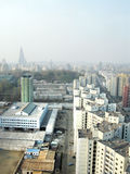 βόρειο Pyongyang της Κορέας στοκ εικόνες